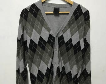 Vtg swagger cardigan made in japan size M