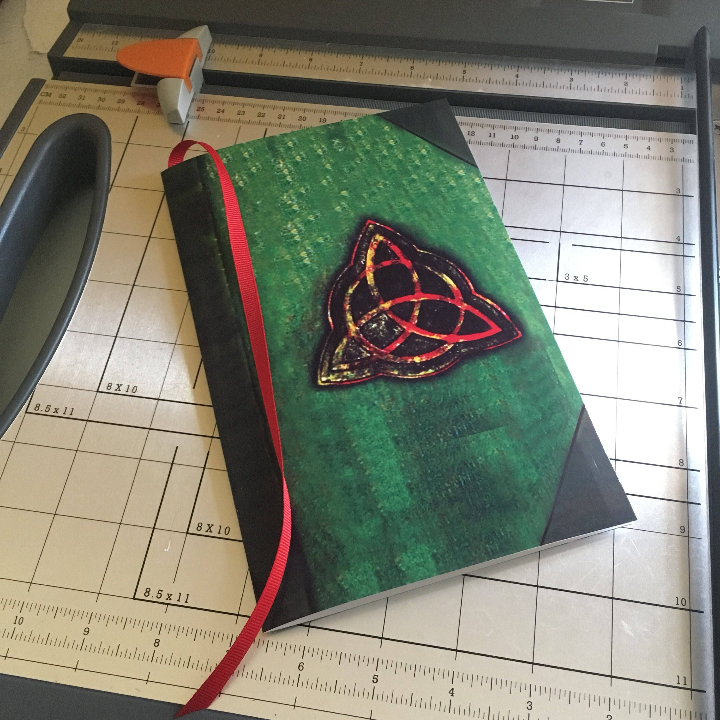 Book Of Shadows Cover Diy : Instant download charmed book of shadows diy notebook with