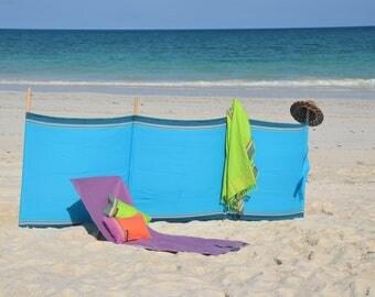 Kikoy Cotton Windbreak - Turquoise
