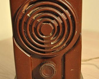 Soviet vintage old radio Carbolite. USSR