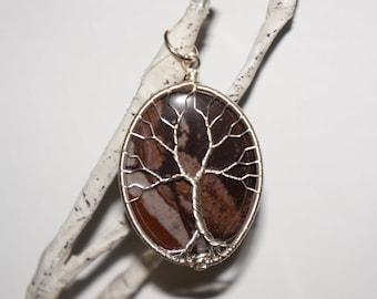 Outback Jasper Tree of Life Pendant