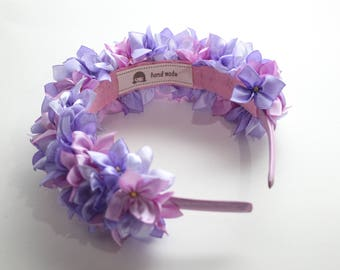 Hydrangea Headband and Hairband