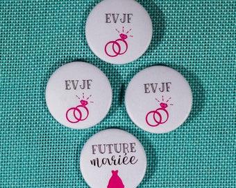 3 badges + 1 bride bachelorette party