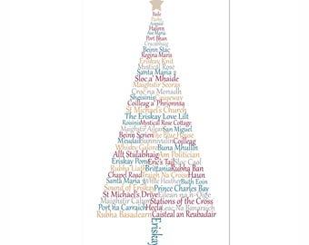 Eriskay Christmas Card, Outer Hebrides, Western Isles, Scotland