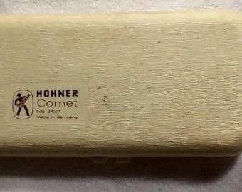 Vintage Hohner comet 3427 harmonica