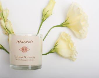 Saraswati Candle - Gardenia and Tuberose