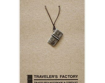Traveler's Factory TF Charm Traveler's Notebook pattern 07100014 Midori Designphil Material Tin Free Shipping