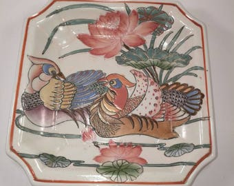 Dynasty plate by Heygill Handpainted in Macau