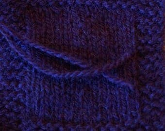 MULBERRY 2 ply sport weight kettle dyed wool yarn from our farm