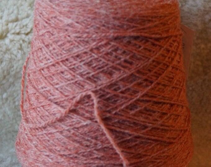 RUST 2 ply sport weight 1 pound cone wool Fisherman yarn from Bartlettyarn sale