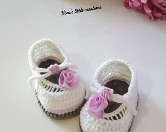 Premature baby shoes