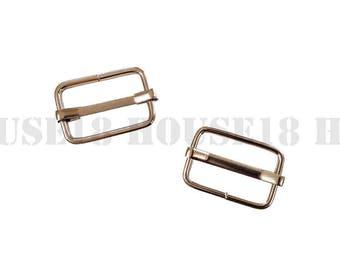 """20mm 0.79"""" Movable Bar Slide Strap Adjuster Rectangle Slider Suspender, Handbag, Purse Hardware Bag Making Supplies Wholesale"""