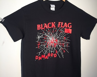 BLACK FLAG Damaged Tee (Only 25 PRINTED!!!)