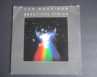 Van Morrison - Beautiful Vision - LP Record - 1982 Warner Brothers VG+