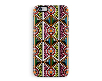 iPhone 8 Case, iPhone X, iPhone 8 cell, Bohemian iPhone 8 case, African Pattern iPhone, African iPhone 8, Aztec iPhone, Tough Phone case