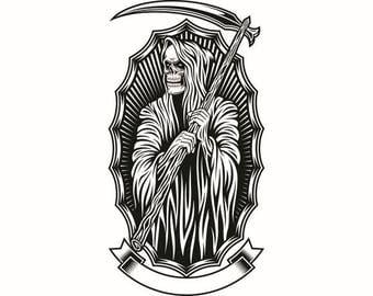 Reaper Clipart Etsy