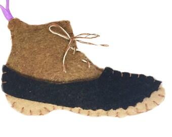 Duck Boot Ornament, Shoe Ornament, Preppy Christmas Ornament, Rubber Boot Ornament, Preppy Holiday, Clothes Ornament, College Girl, Sorority