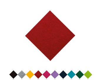 Chair cushions | RED | Felt pads | Seat cover | to measure