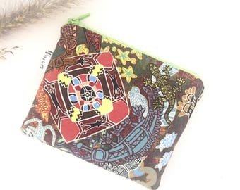 Aboriginal Heart of My People print coin purse
