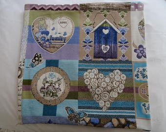 romantic fabric Cushion cover