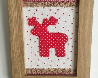 Christmas Reindeer Decoration.