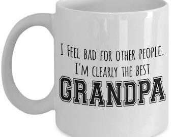 Father's Day Mug - Best Grandpa - Funny Grandpa gift