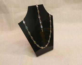 Vintage Alpaca Mexico Necklace and Bracelet set.