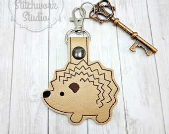 Hedgehog Keychain - Key Fob