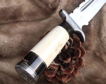 Bowie Knife, Handmade knife, Gift Knife, Hunting knife, Custom knife, Custom fixed blade. 14.177