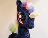 "Unicorn Doll | Nomadic Galaxy Pony: ""Comet"""