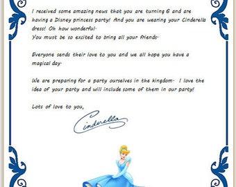 Letters Ariel Belle Cinderella Elsa Jasmine Aurora