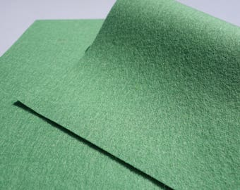 "100% Wool Felt Sheet in Color PISTACIO - 18"" X 18"" Wool Felt Sheet - Merino Wool Felt - European Wool Felt"