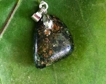 Small tumbled Stone Henge Pendant