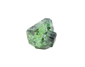 Mint Green Tsavorite Grossular Garnet from Merelani Hills, Tanzania, Africa 13