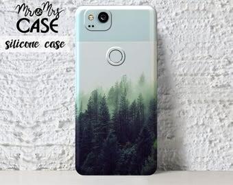 Google Pixel 2 Xl-Forest case for Google Pixel 2 Xl-Google Pixel 2-Google Pixel Xl 2-clear silicone case-Google pixel 2-Pixel phone case