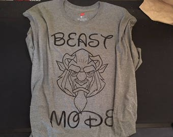 Beast Mode disney inspired shirt