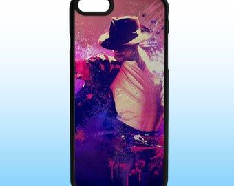 Michael Jackson King of Pop Custom Iphone Case, Iphone 5, 6, 7, 8, X Plus
