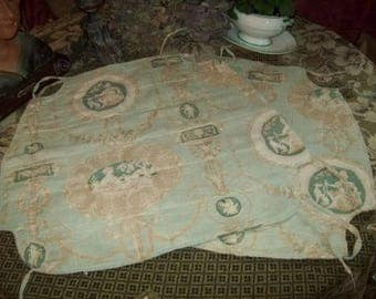 lovely on 2 former Chair, deco shabby, fabric of jouy, faded tones