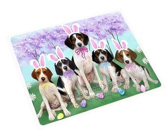 Treeing Walker Coonhound Dog Holiday Print Throw Blanket