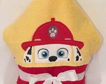 Marshall Hooded Towel