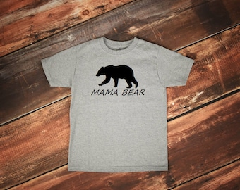 Mama Bear tshirt, Mama Bear Shirt, Papa Bear Shirt, Papa Bear tshirt, Mama Tribe, Mom of Boys, Mom of Girls shirt, Mom Life shirt