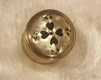 Adorable small Brass Cricket Box