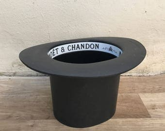 Vintage French Champagne French Ice Bucket Cooler Made France MOET HAT 0210176