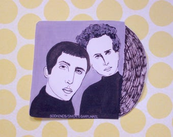 Simon and Garfunkel Bookends Sticker