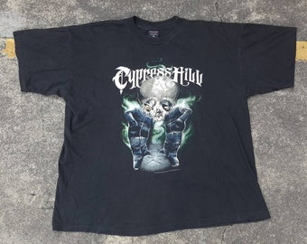 VTG Cypress Hill Once up the Mind 1996 DeadstocK Bootleg Raptees