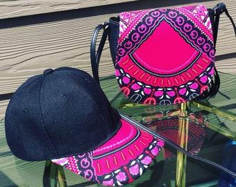 Dashiki Hat and Bag Set
