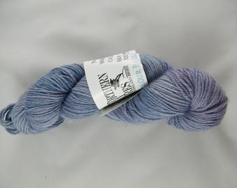 25% Silk - Sport weight - Purple - Lavender Dreams Handdyed Yarn - Canadian - 291 yd - 100g - 75 Percent Blue Faced Leicester Wool - #445