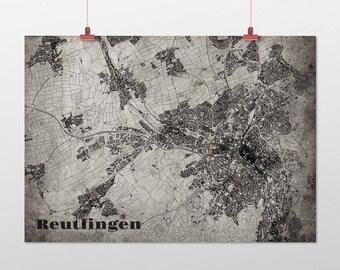 Reutlingen - A4 / A3 - print - OldSchool