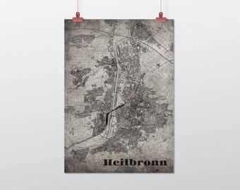 Heilbronn - A4 / A3 - print - OldSchool