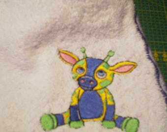 ORIGINAL BABY BIB EMBROIDERED